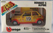 Burago 0162 Renault R5 Alpine 1/24 Neuve Boite