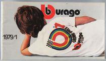 Burago 1979/1 Catalog - Cars Trucks 1:14 1:24 1:43 scale