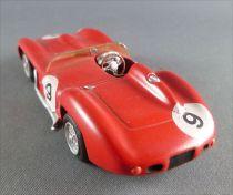 C Scale 027 Ferrari  250 TR Le Mans 1957 Kit Métal Montage Usine 1/43