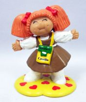 Cabbage Patch Kids - PVC Figure 1984 - Girl with passport around the neck