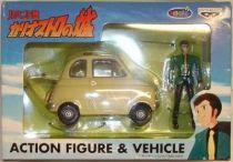 Cagliostro\\\'s castle - Lupin\\\'s  Fiat 500 - Banpresto
