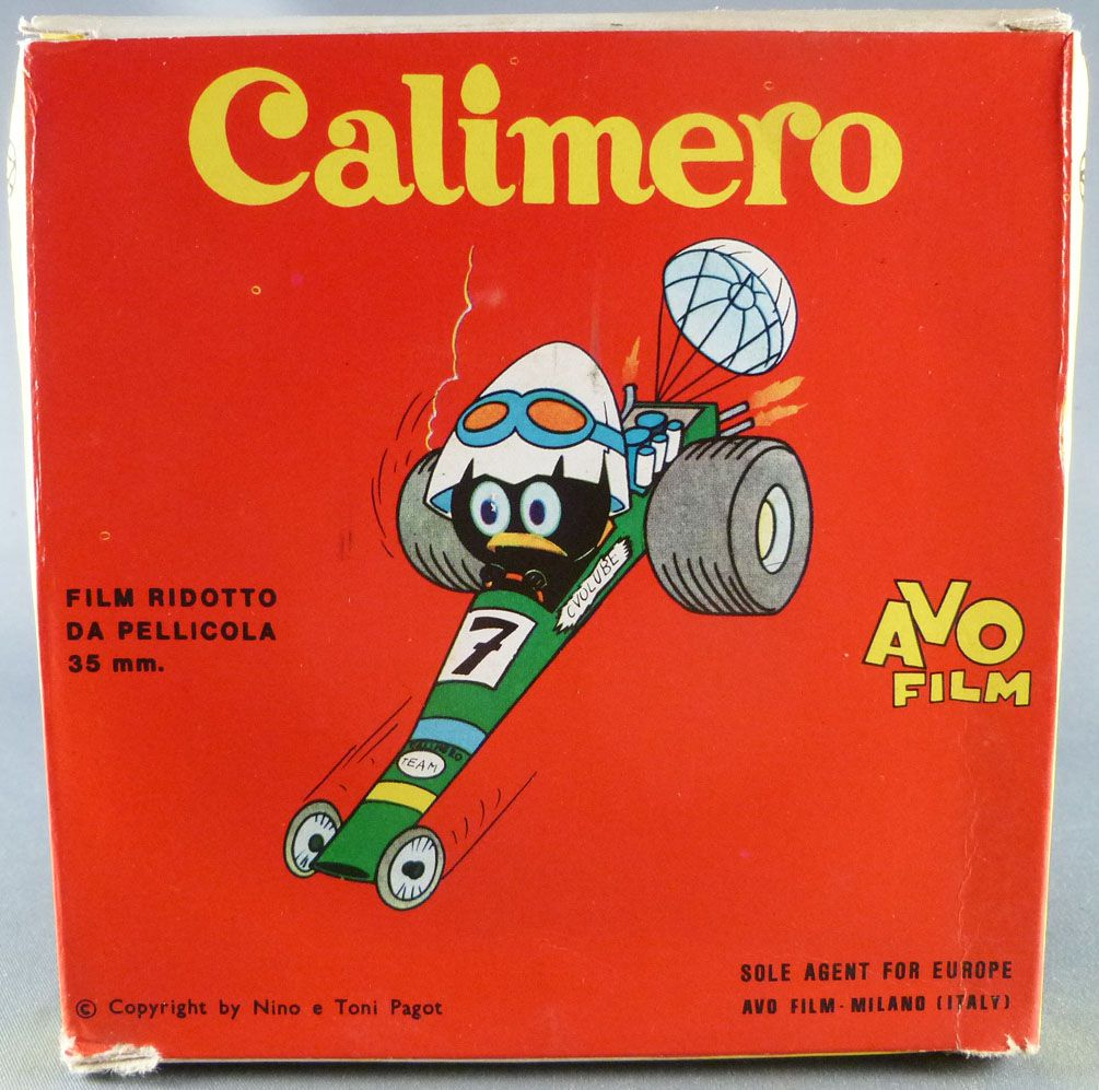 Calimero - Super 8 Movie Color Avo 3024 - Calimero and the Nice Summer