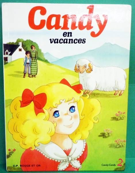 Candy - Edition G. P. Rouge et Or A2 - Candy en vacances