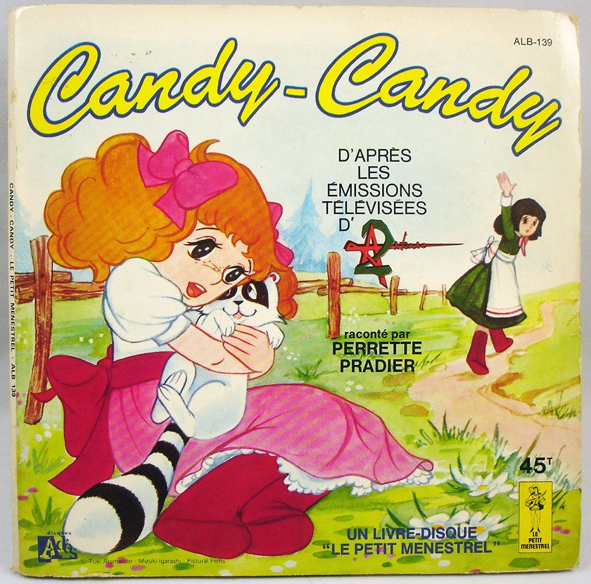 Candy - Livre-Disque 45T - Candy-Candy