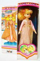 Candy - Poupée Candy en robe de bal dorée - Polistil