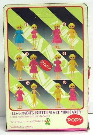 Candy-Candy - Candy\'s Realm - Mini Candy (Set #3) Popy