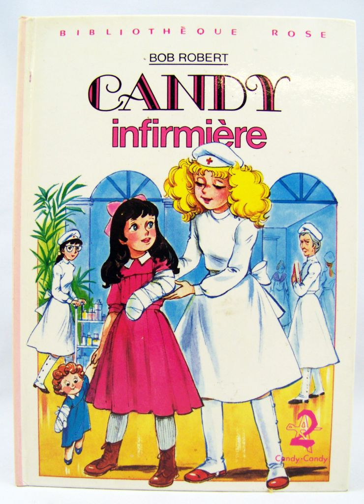 Candy Candy - Children story book \'\'Candy nurse\'\'