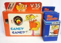 Candy Candy - Mupi Color Super 8 Color Viewer + 6 Super 8 Movie Cartridges