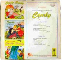 Candy Candy - Record-Book 45s - Candy save Miss Pony\'s pension