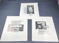 Cannon (William Conrad) - Viacom (1982) - Kit Promotionnel (Promotion Kit)