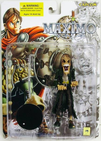 Capcom\'s Maximo - Zombie - Toycom figure
