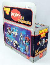 Capitaine Flam - Cosmolem ST - Popy France (neuf en boite)