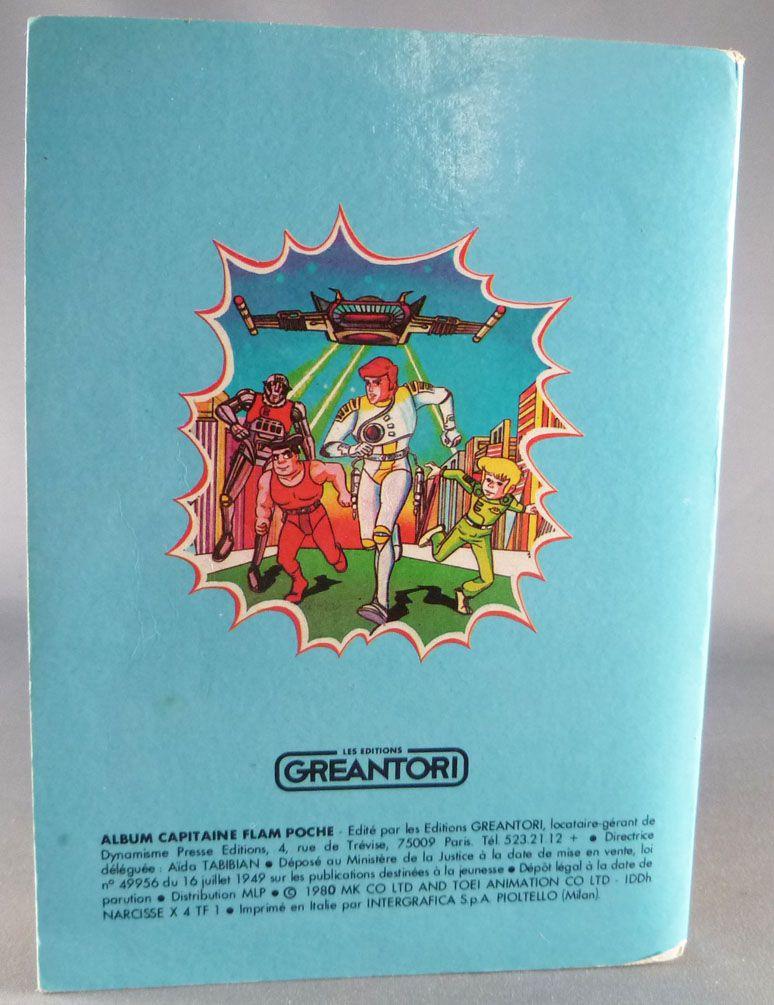 Capitaine Flam - Editions Greantori - Capitaine Flam Album Poche n°4