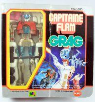 Capitaine Flam - Grag Robot métal - Popy France