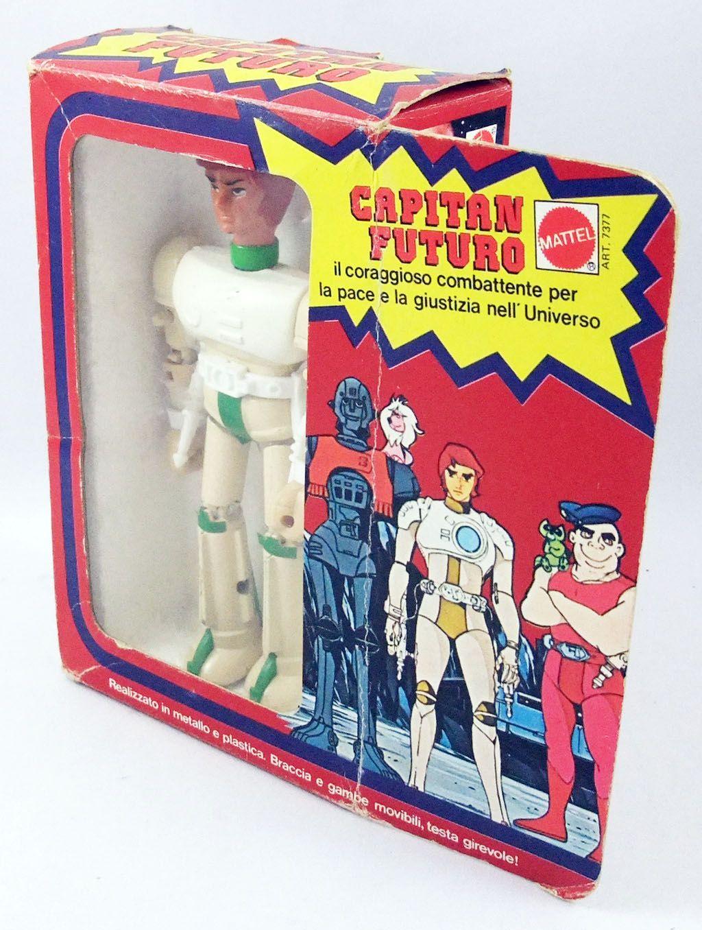 Capitaine Flam - Robot métal type \'\'Shogun Warrior\'\' - Popy Mattel