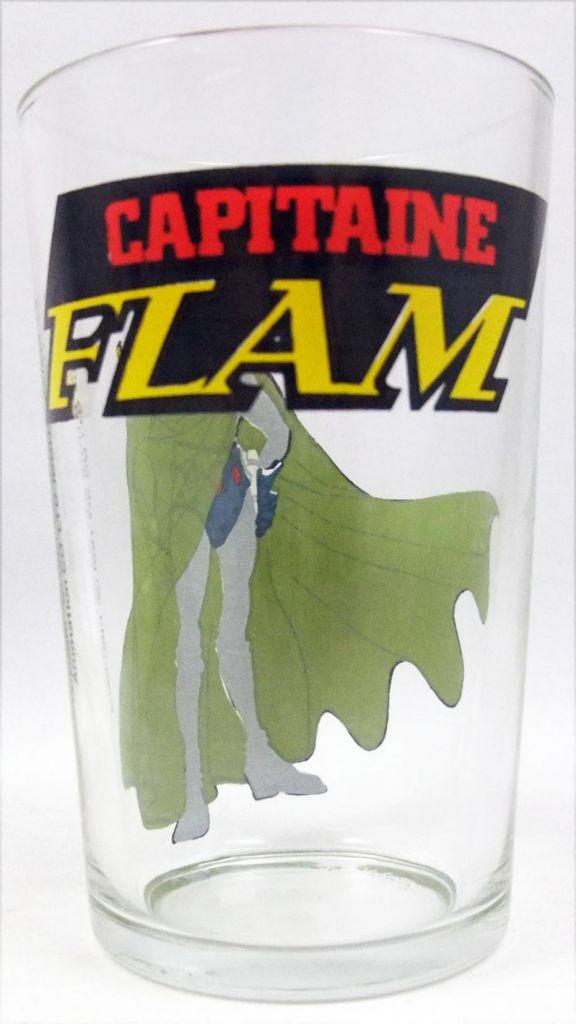 Capitaine Flam - Verre à moutarde Amora - L\'Empereur de l\'Espace