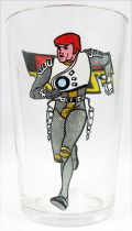 Captain Future - Amora mustard glass - Captain Future Curtis Newton