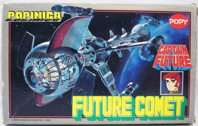 Captain Future - Future Comet ST - Popy Germany