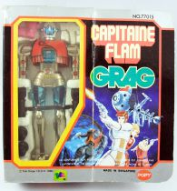 Captain Future - Grag die-cast robot - Popy France