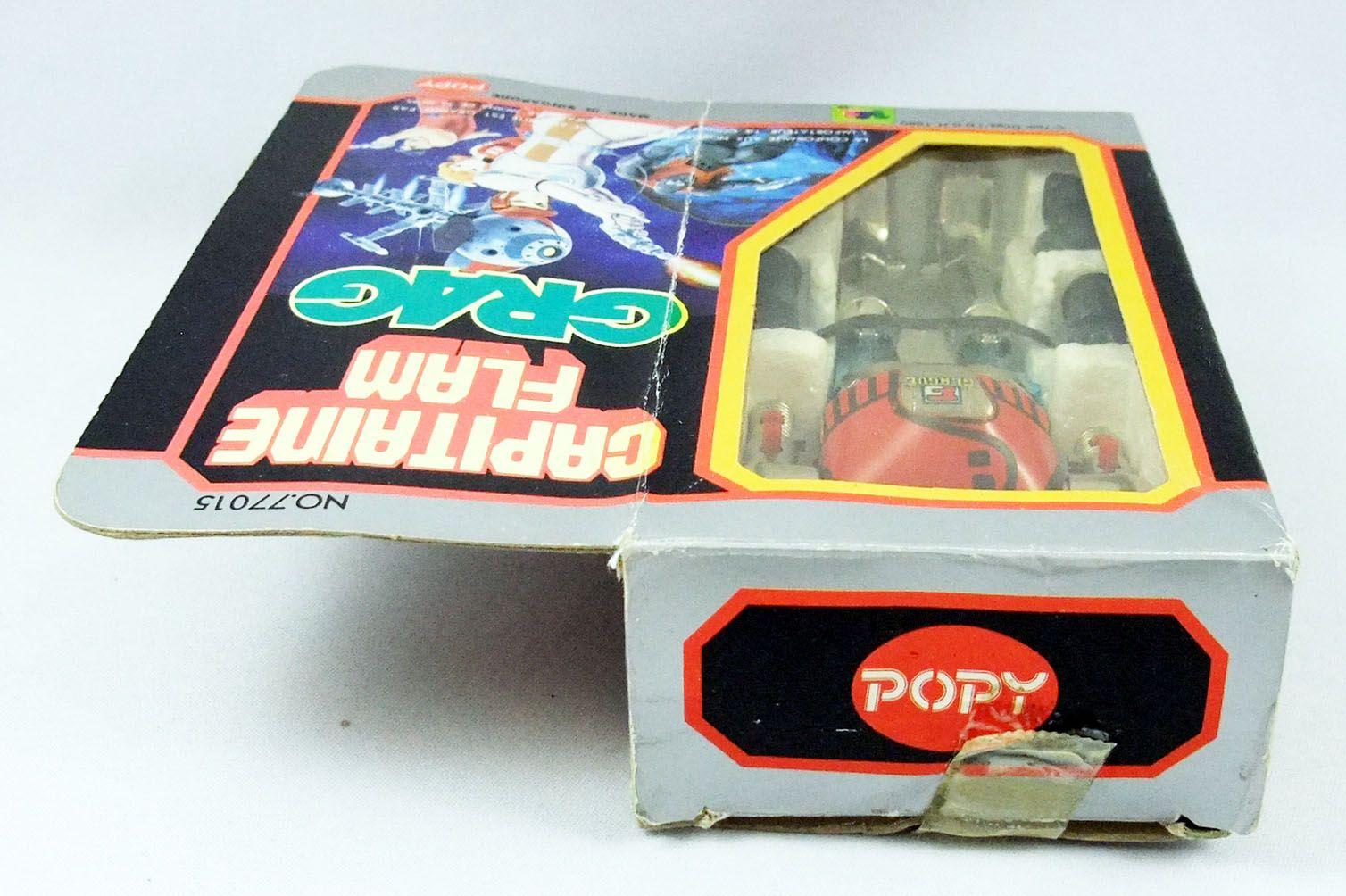 Captain Future - Grag die-cast robot - Popy France