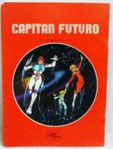 Captain Future - School Notebook - Curtis flashing Fish-Man