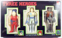 Captain Future - Three Heroes pack : Captain Future, Otto and Grag - Mattel Italy