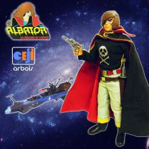 Captain Harlock - 12\'\' Action Joe doll - Ceji Arbois (loose)