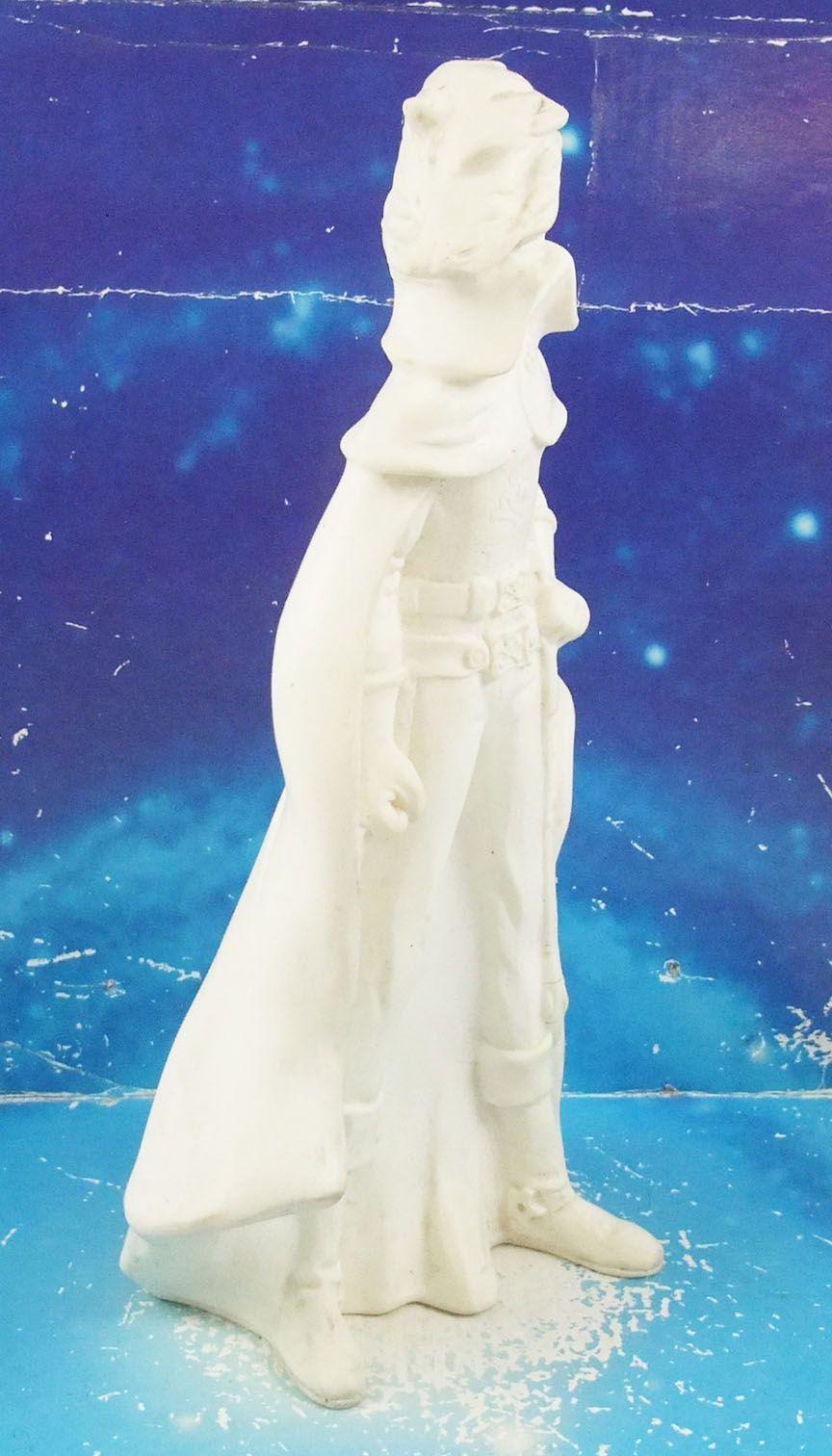 "Captain Harlock - 9\"" Squeeze toy unpainted white - Delacoste"