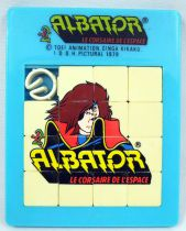 Captain Harlock - Albator Fifteen puzzle (Riddle) - IDDH Pictural 1979