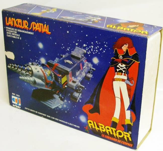 Captain Harlock - Ceji - Space Launcher N°1 blue (loose with box)