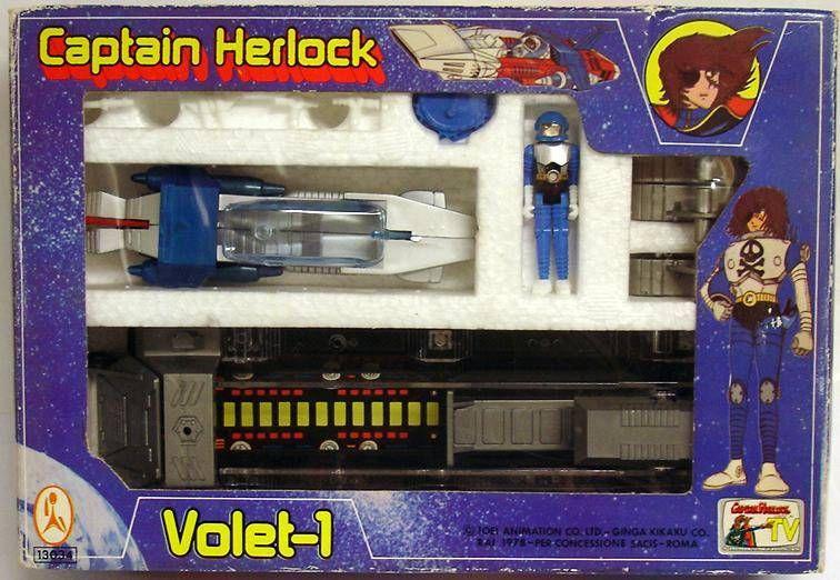 Captain Harlock - Ceppi Ratti Takara - Volet-1 (mint in box)