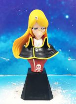 Captain Harlock - Konami Trading Figures - Queen Emeraldas Bust (Matsumoto Leiji Roman Collection Vol.2)