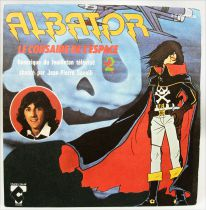 Captain Harlock - Original French TV series Soundtrack - Mini-LP Record - Charles Talar Records 1979