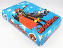 Captain Harlock - pvc figures display box wit Albator - Fabianplastica