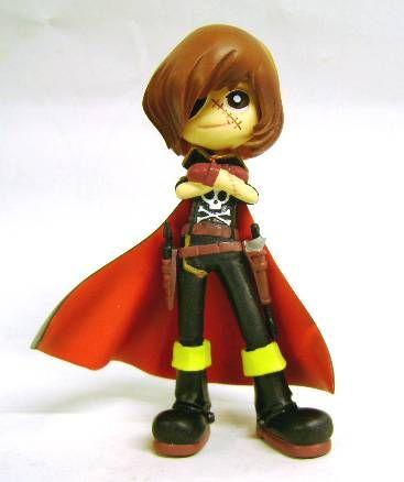 Captain Harlock - SD figure Garage Kit  - Captain Harlock