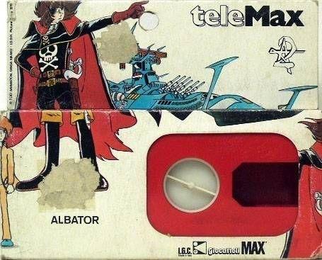 Captain Harlock - Telemax Movie tape N°1