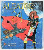 Captain Harlock 84 - Panini Stickers Collector book (complete)