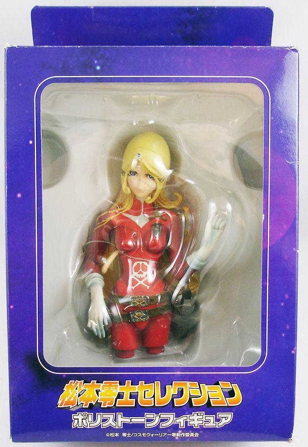 Captain Harlock Cosmo Warrior Zero -  Emeraldas polystone bust - Aruze Corp.