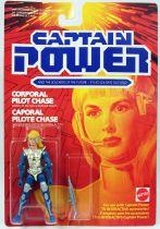 Captain Power - Mattel - Caporal Pilot Chase (Canada)
