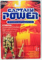 Captain Power - Mattel - Lieutenant Tank Ellis (Europe)