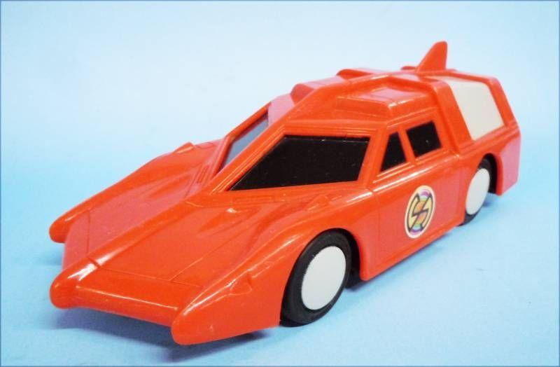 Captain Scarlet - Premium Penguin (Biscuits) - Spectrum Saloon Car (Lampe-Torche)