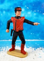 Captain Scarlet - Timpo Toys - Captain Scarlet (red)