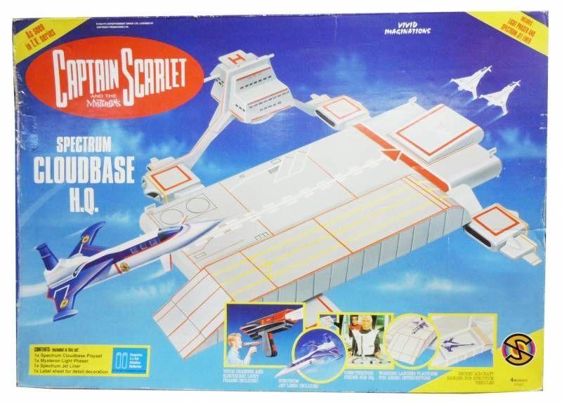 Captain Scarlet - Vivid - Spectrum Cloudbase H.Q. Playset