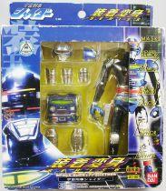 Captain Sheider (Space Sheriff Shaider) - Figurine Articulée avec Armure Métal - Bandai GD-96
