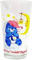 Care Bears - Amora mustard glass - Bedtime Bear