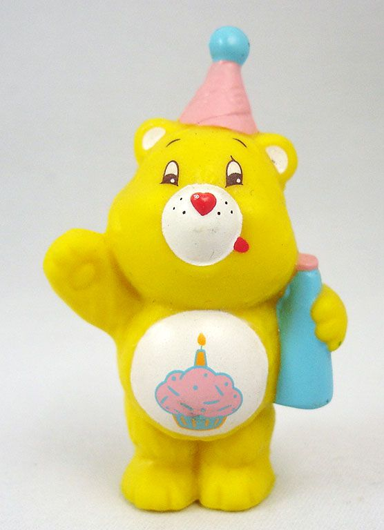 Care Bears - Kenner - Miniature - Birthday Bear ready for a party (loose)