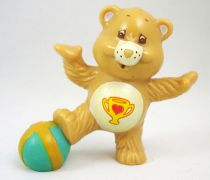 Care Bears - Kenner - Miniature - Champ Bear plays football (loose)