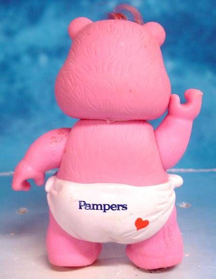 Care Bears - Kenner action figure - Baby Hugs Bear \'\'Pampers\'\' (loose)