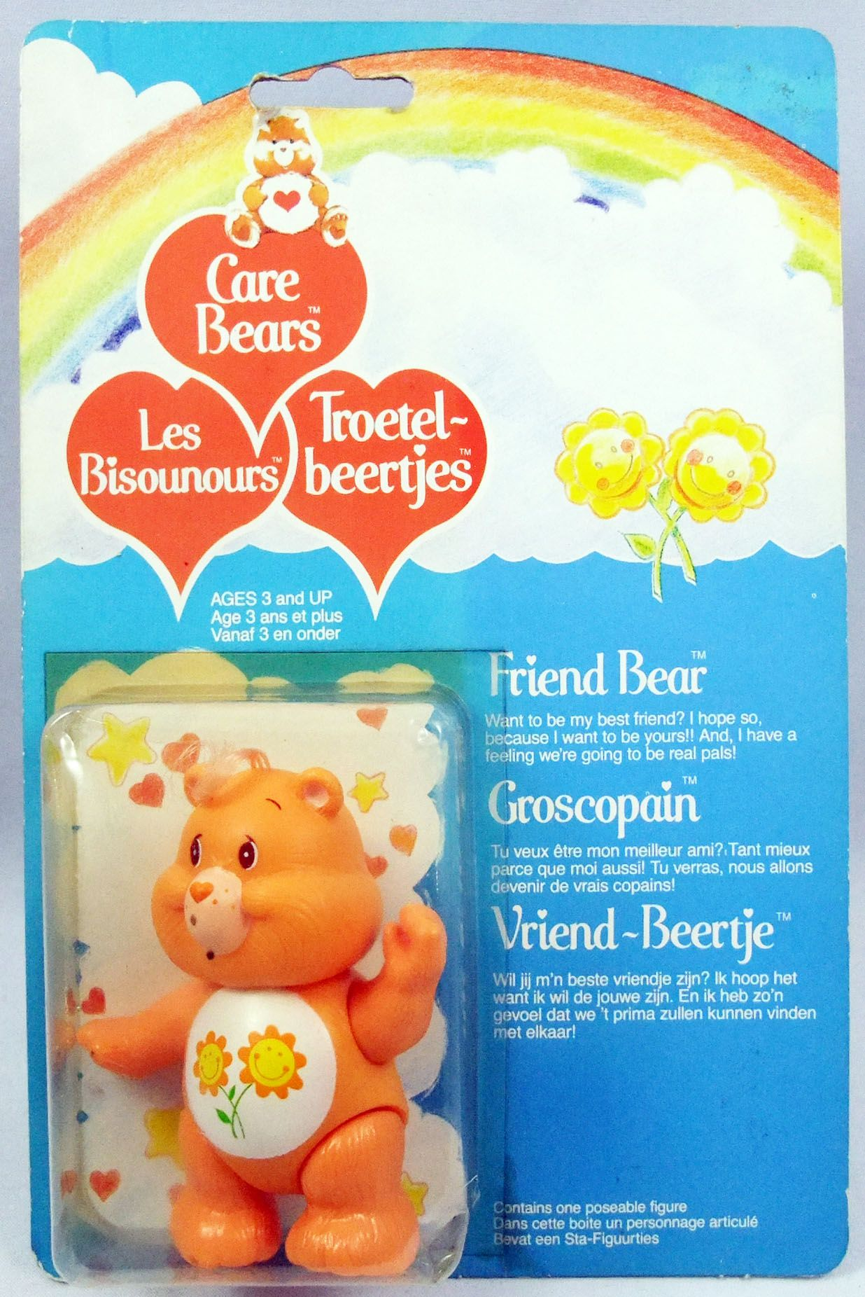 Care Bears - Kenner action figure - Friend Bear