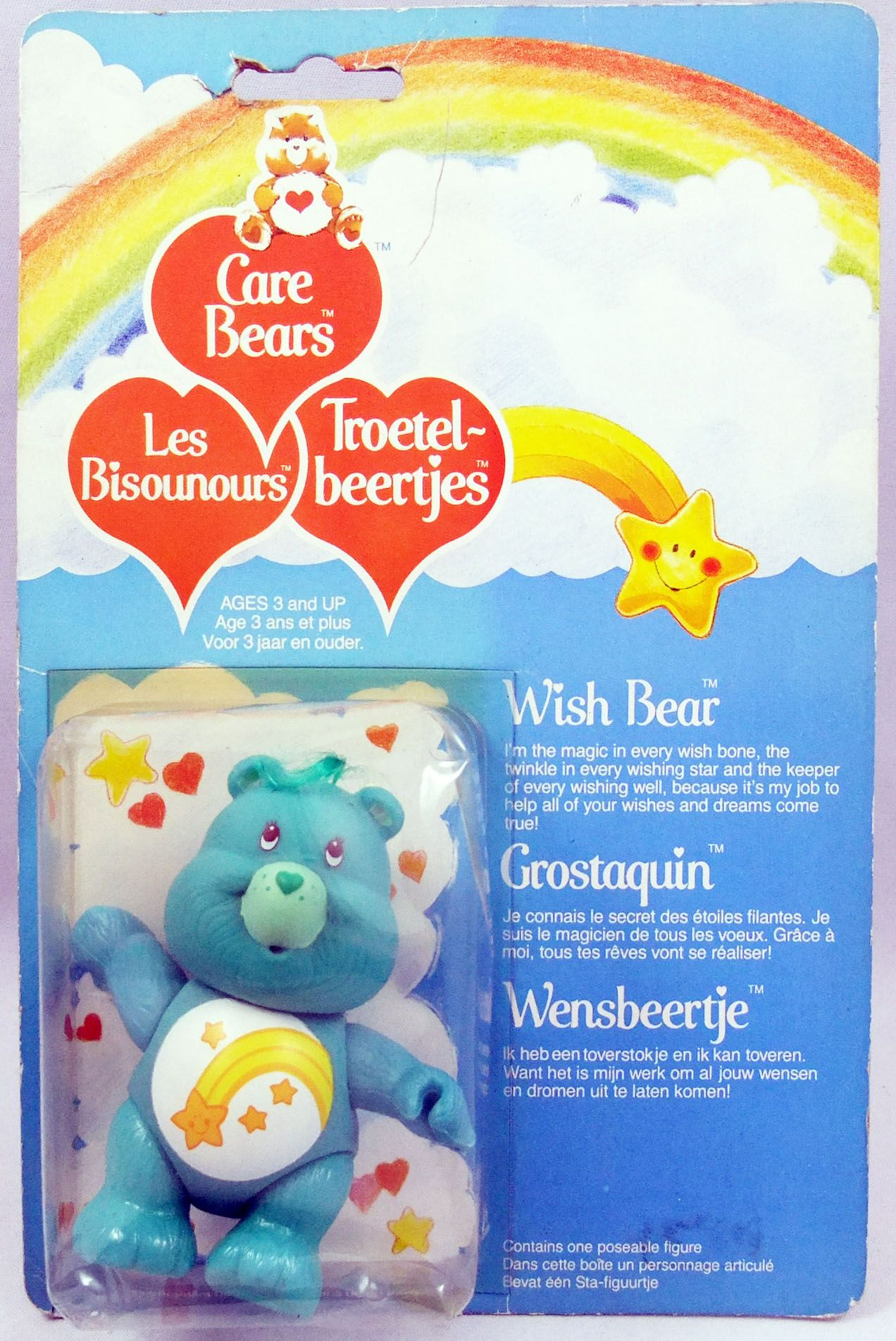 Care Bears - Kenner action figure - Wish Bear